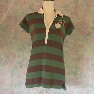 🤗casual size L striped Aeropostale t- shirt